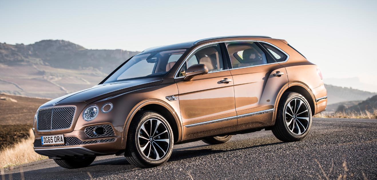 2017 Bentley Luxury Suv